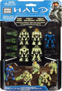 Halo Mega Bloks Exclusive Set #97199 Last Man Standing Zombie Pack