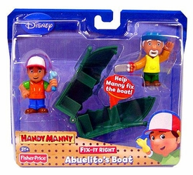 Handy Manny Fix-It-Right Figure 2-Pack Abuelito's Boat