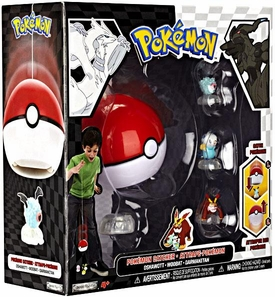 Pokemon Black & White Series 2 Catcher 3-Pack Woobat, Darmanitan & Oshawott