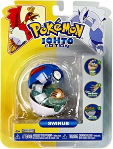 Pokemon Pop n Battle Poke Ball Swinub