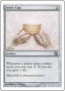 Magic the Gathering Eighth Edition Single Card Uncommon #305 Ivory Cup