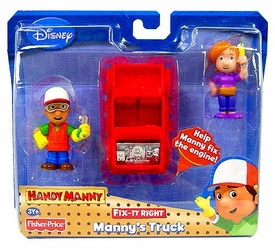 Handy Manny Fix-It-Right Figure 2-Pack Manny's Truck