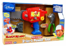 Handy Manny Fix-It-Right Play Pack 2-In-1 Power Tool