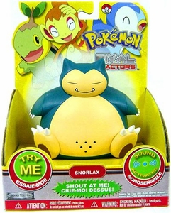 Pokemon Rival Reactors Toy 4 Inch Figure Snorlax
