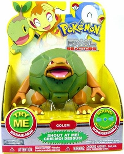 Pokemon Rival Reactors Toy 4 Inch Figure Golem