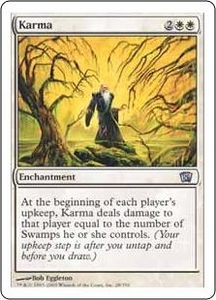 Magic the Gathering Eighth Edition Single Card Uncommon #28 Karma