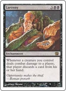 Magic the Gathering Eighth Edition Single Card Rare #139 Larceny
