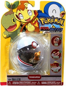 Pokemon Pop n Battle Poke Ball Teddiursa