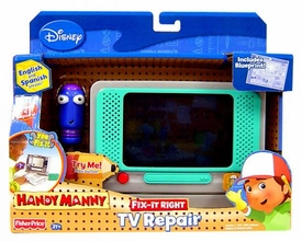 Handy Manny Fix-It-Right Play Pack TV Repair