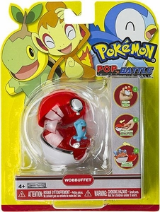 Pokemon Pop n Battle Poke Ball Wobbuffet