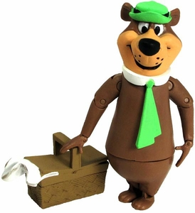 Hanna Barbera 3 Inch Figure Yogi with Picnic Basket [Yogi Bear]