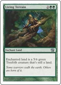 Magic the Gathering Eighth Edition Single Card Uncommon #260 Living Terrain
