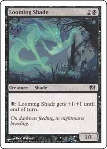 Magic the Gathering Eighth Edition Single Card Common #140 Looming Shade