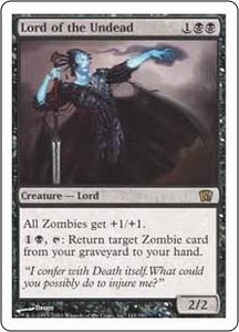 Magic the Gathering Eighth Edition Single Card Rare #141 Lord of the Undead