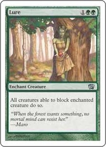 Magic the Gathering Eighth Edition Single Card Uncommon #263 Lure