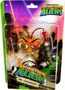 Monsters vs. Aliens Deluxe Action Figure Dr. Cockroach