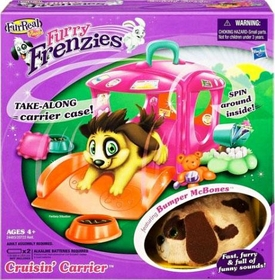 Hasbro FurReal Friends Furry Frenzies Vehicle Cruisin Carrier [Includes Bumper McBones]