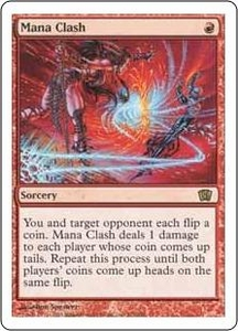 Magic the Gathering Eighth Edition Single Card Rare #202 Mana Clash