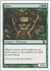Magic the Gathering Eighth Edition Single Card Rare #264 Maro