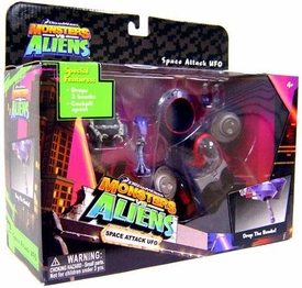 Monsters vs. Aliens Deluxe Playset Space Attack UFO