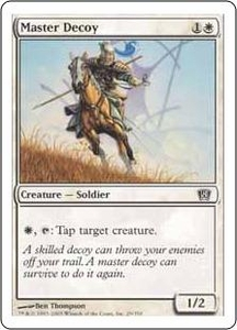 Magic the Gathering Eighth Edition Single Card Common #29 Master Decoy