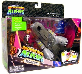 Monsters vs. Aliens Deluxe Playset Dr. Cockroach's Super Trolley