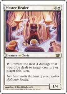 Magic the Gathering Eighth Edition Single Card Rare #30 Master Healer