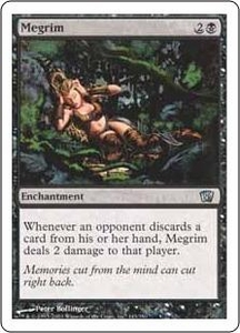 Magic the Gathering Eighth Edition Single Card Uncommon #143 Megrim