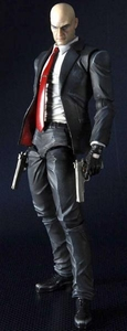 Hitman: Absolution Play Arts Kai 9 Inch Action Figure Agent 47