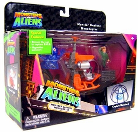 Monsters vs. Aliens Deluxe Playset Monster Capture Monocopter