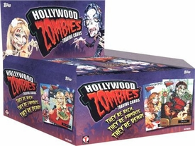 Hollywood Zombies Topps Series 1 Trading Card Box [24 Packs]