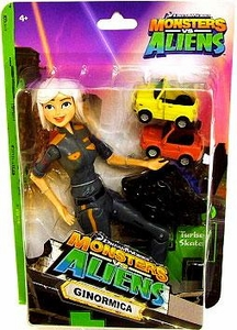 Monsters vs. Aliens Deluxe Action Figure Ginormica