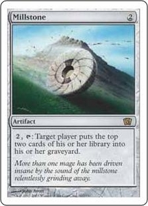 Magic the Gathering Eighth Edition Single Card Rare #307 Millstone