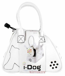 I-Dog Doggie Bag Carrying Case White Profile Style Doggy Bag
