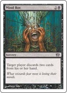 Magic the Gathering Eighth Edition Single Card Common #144 Mind Rot
