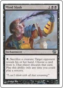 Magic the Gathering Eighth Edition Single Card Uncommon #145 Mind Slash