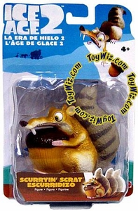 Ice Age 2 The Meltdown Movie 4 Inch Wind-Up Figure Scurryin' Scrat