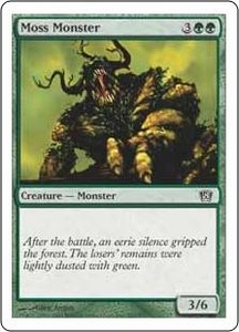 Magic the Gathering Eighth Edition Single Card Common #267 Moss Monster