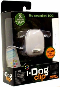 Interactive Pet iDog iPod I-Dog Clip (White)