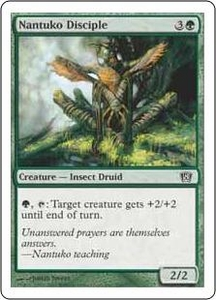 Magic the Gathering Eighth Edition Single Card Common #268 Nantuko Disciple