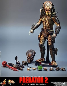 Predator 2 Hot Toys Movie Masterpiece 14 Inch Figure City Hunter