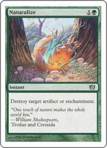 Magic the Gathering Eighth Edition Single Card Common #270 Naturalize