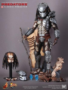 Predator Hot Toys Movie Masterpiece 1/6 Scale Collectible Figure Classic Predator