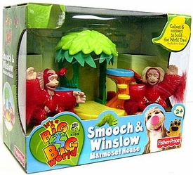 It's A Big Big World Toy World Tree Mini Figure 2-Pack Smooch & Winslow