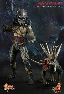 Predators Hot Toys Movie Masterpiece 1/6 Scale Collectible Figure Tracker Predator