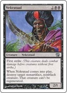 Magic the Gathering Eighth Edition Single Card Uncommon #149 Nekrataal