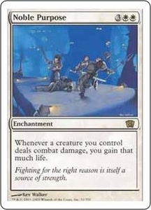 Magic the Gathering Eighth Edition Single Card Rare #31 Noble Purpose