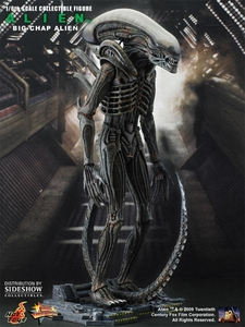 Alien Hot Toys Movie Masterpiece 1/6 Scale Fully Poseable Model Kit 'Big Chap' Alien