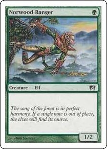 Magic the Gathering Eighth Edition Single Card Common #271 Norwood Ranger