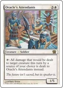 Magic the Gathering Eighth Edition Single Card Rare #32 Oracle's Attendants